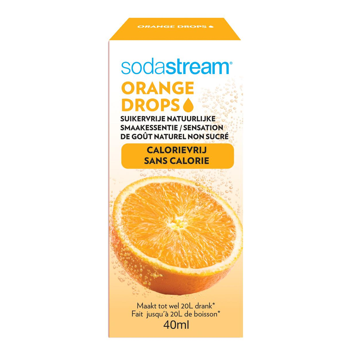 SodaStream - Fruit drop - Sodamix - Fruit drops orange