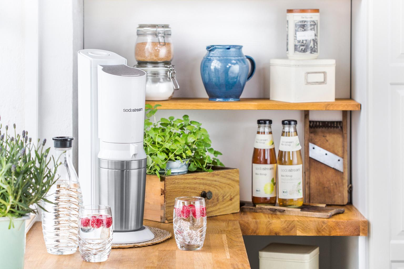 SodaStream - Crystal - White - Wit